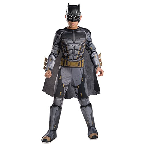 Rubie's Costume Boys Justice League Deluxe Tactical Batman Costume, Small, (Deluxe Batman Kids Costumes)