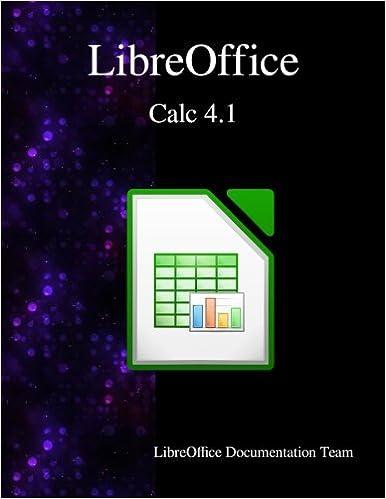 Amazon com: LibreOffice Calc 4 1 (9789881443588