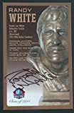 PRO FOOTBALL HALL OF FAME Randy White Signed Bronze