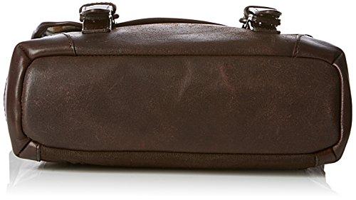 Jost Tacoma Messenger Bag 2979 - Bolsa de mensajero para hombre, color marrón, talla Única
