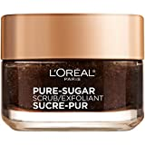 #8: L'oreal Paris Skin Care Pure Sugar Face Scrub With Kona Coffee To Instantly Resurface & Energize for Soft Glowing Skin, 1.7 Ounce