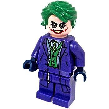 Amazon.com: LEGO Superheroes Minifigure Dark Knight Joker ...