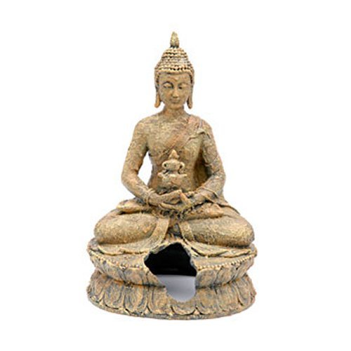 Penn-Plax RR680 Sitting Buddha Aquarium Ornament
