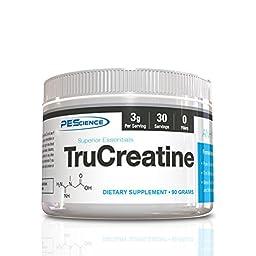PEScience TruCreatine (Creatine Anhydrous), 30 servings