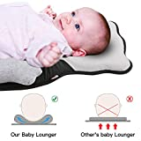 OTTOLIVES Portable Baby Bed Head Support Pillow