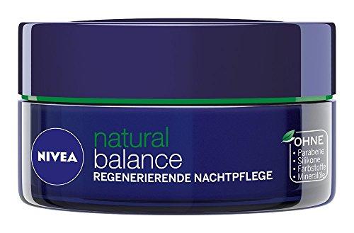 Nivea Pure & Natural Regenerating Night Cream 50ml For All Skin Types