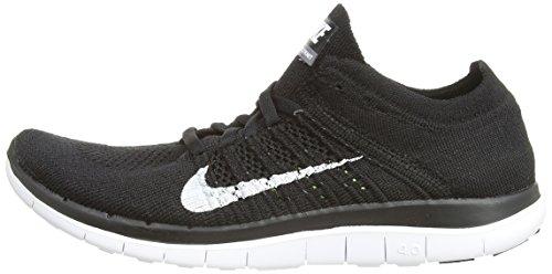 390cda5a2e59 ... sale amazon nike free 4.0 flyknit womens running shoes 10.5 black white  road running ba85c 08e7e ...