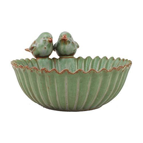 NWFashion Special Design Fun Garden Flower Planter Succulent Pot Planter (Bird) ()