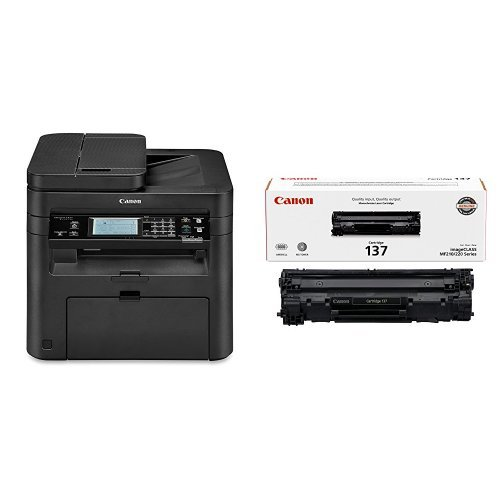 Canon imageCLASS MF247dw Wireless, Multifunction, Duplex Laser Printer with Original Black Tonor Cartridge by Canon