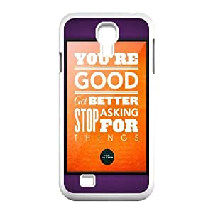 Samsung Galaxy S4 9500 Cell Phone Case White Don Draper Quote OJ673989