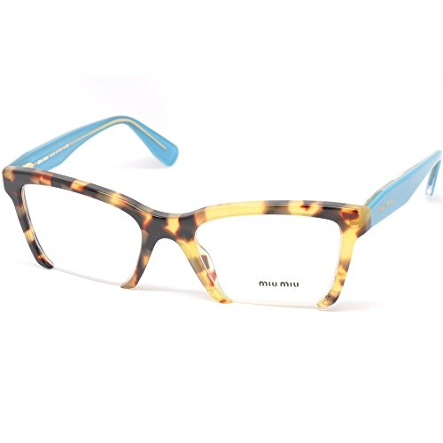 Miu Miu MU04NV Eyeglasses-7S0/1O1 Light - Frame Miu Glasses Miu
