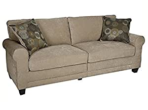 "Serta RTA Copenhagen Collection 78"" Sofa in Marzipan"