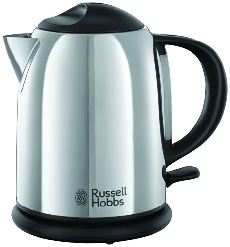 Russell Hobbs 20190 Chester Compact Kettle, 1 L, 2200 W - Polished Stainless Steel