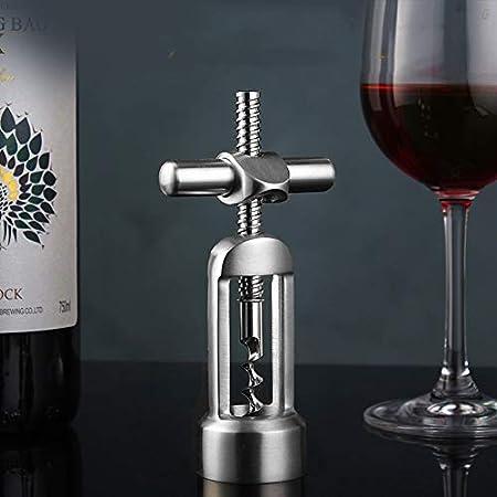 Sacacorchos Sacacorchos Electrico Prima De Acero Inoxidable 304 De La Botella De Vino Rojo De Cerveza Abridor Sacacorchos ala Screwpull Cork ZHAOYONGLI (Color : A2, Size : 2.7 * 5.5in)