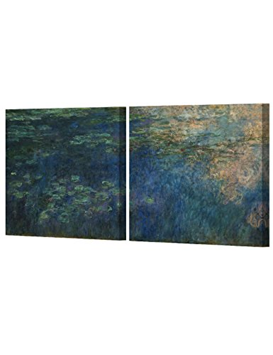 DecorArts Reflections Water Lily Reproduction paintings