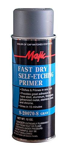 Majic Paints 8-20070-8 Self-Etching Primer Spray, 12 oz, ...