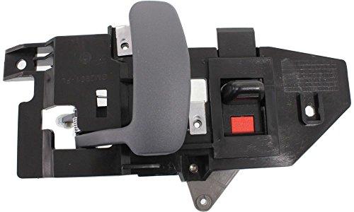 Evan-Fischer EVA18772036600 New Direct Fit Interior Door Handle for EXPRESS/SAVANA VAN 96-15 FRONT LH Inside Gray (Zinc) Replaces Partslink# GM1352153 (Van Interior Door Handle)