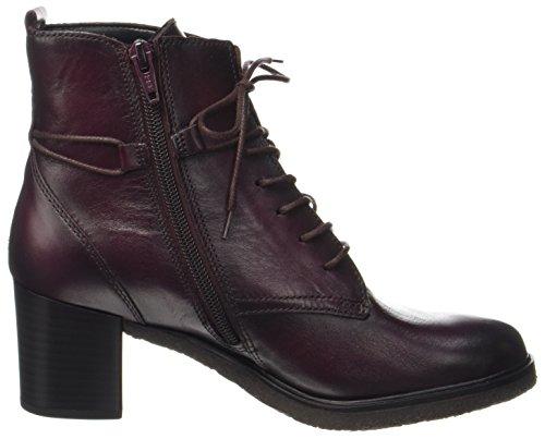Fashion Gabor Wine Bottes Effekt Femme Shoes Gabor Rouge qfRwOaf