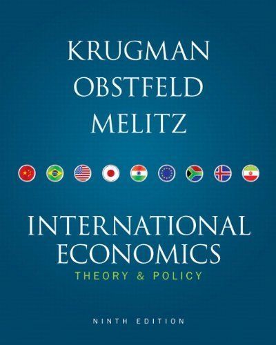 International Economics (9th Edition) by Krugman, Paul R., Obstfeld, Maurice, Melitz, Marc 9th (ninth) Edition [Hardcover(2011)] pdf
