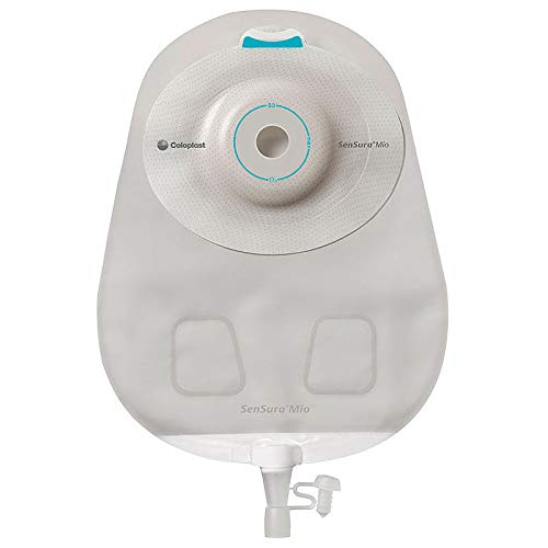 Mio 1-Piece Urostomy Pouch, Convex Light, Maxi, Transparent, Cut-to-fit