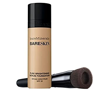 bareMinerals BARESKIN Kit Perfecting Face Brush and Pure Brightening Serum Foundation BARE NATURAL