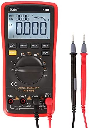 CHENGUANGLONG GL Tester GVFT Kaisi K-9033 Digital Multimeter LCD Display Handheld Digital Multimeter for Mobile Phone Repair