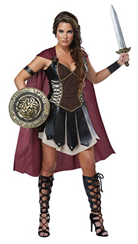 Combined Costumes (Glorious Gladiator Adult Costume (X-Small))