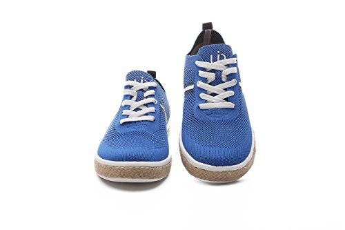 Uin Mens Riverside Knit Travel Casual Schoenen Blauw