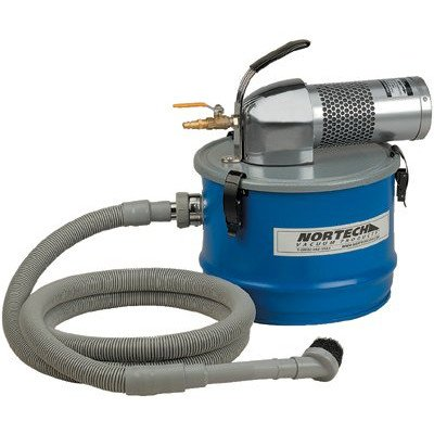 Nortech N041MC M Vacuum Unit with 1.25-Inch Inlet and Attachment Kit, 4-Gallon