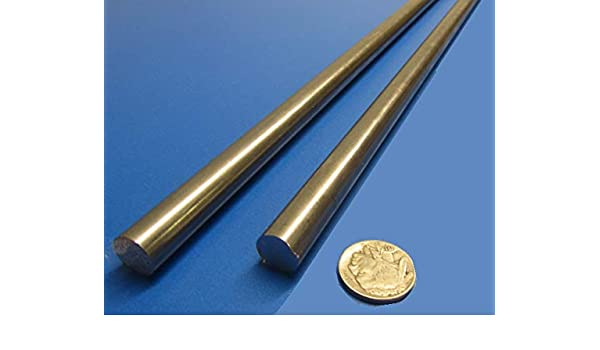 x 48 in Plain Round Rod Metal Stock Steel 5//8 in