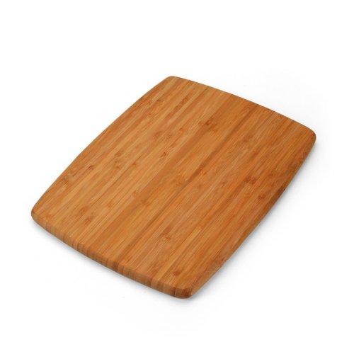 Inch Single-Tone Bamboo Cutting Board ()
