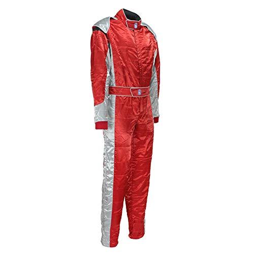 Motorsport Racewear Race Suit in Red Color Men