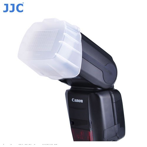 JJC FC-600EXII Flash Diffuser Dome 600EXRT Replaces Canon SBA-E3 Fit 600EX II-RT With A&R Cleaning cloth