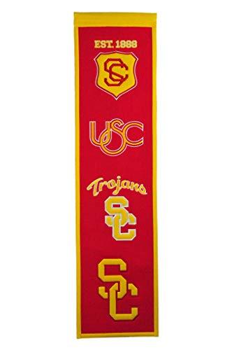 (NCAA USC Trojans Heritage Banner)