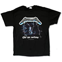 "Bravado Adult Metallica ""Ride The Lightning"" Black T-Shirt"
