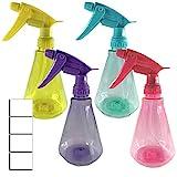 EZPRO USA Clear 350ml Empty Plastic Spray Bottles