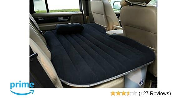 Amazon.com: Heavy Duty Car Travel Inflatable Mattress Car Inflatable ...