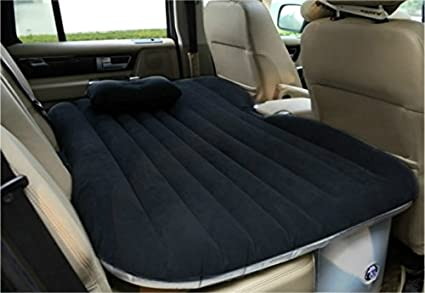 Heavy Duty Car Travel Inflatable Mattress Bed SUV Back Seat Extended