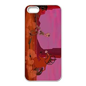 (NEWB) iPhone 4 4s Cell Phone Case White Disney Home on the Range Character Buck