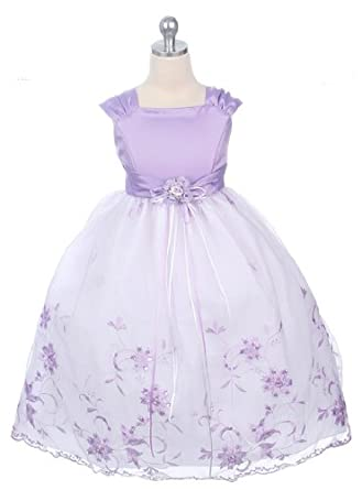 Are not lavendar flower girl dresses think, that