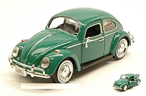 MOTORMAX MTM73223GN VW BEETLE 1966 GREEN 1:24 MODELLINO DIE CAST MODEL