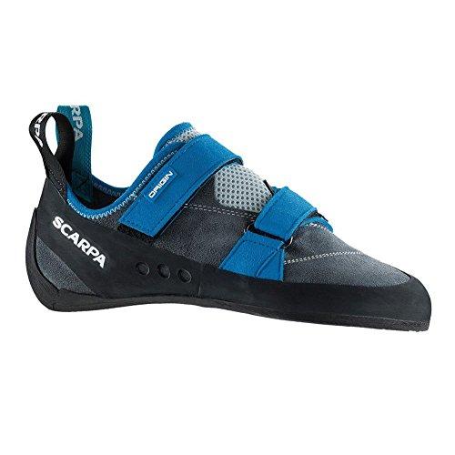 Scarpa Origin U Climbing Shoe, Iron Gray, 38.5 EU/6 1/3 M US
