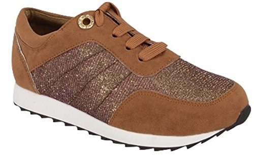Zapatillas De Running Retro Clásicas Clásicas Rellenas Clásicas De Astered Para Mujer Zapatillas De Cordones Tostadas