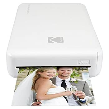 "Amazon.com : Kodak Mini Portable Mobile Instant Photo Printer - Wi-Fi & NFC Compatible - Wirelessly Prints 2.1 x 3.4"" Images, Advanced DyeSub Printing Technology (Black) Compatible with Android & iOS : Camera & Photo"
