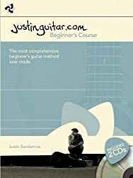 The Justinguitar.Com Beginner's Guitar Course (Book & 2 Cds)