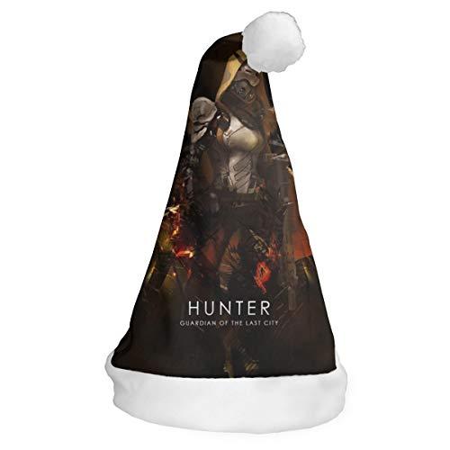 Destiny 2019 Halloween Event (Game Des_Tiny Hunter Santa Hat Christmas Cap Xmas Party Costume Recreation)
