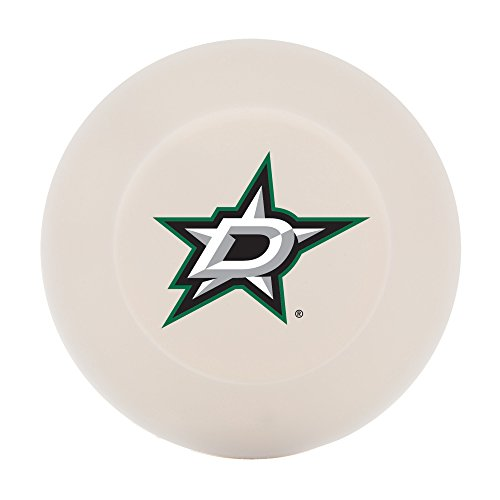 Franklin Sports Dallas Stars Street Hockey Puck - Molded PVC Team Logo Puck for Smooth Surfaces - NHL Official Licensed Product