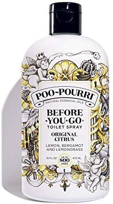 Poo-Pourri Before-You-Go Toilet Spray Refill Original Citrus Scent 16 oz