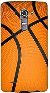 Stylizedd LG G4 Premium Slim Snap case cover Matte Finish - Basketball
