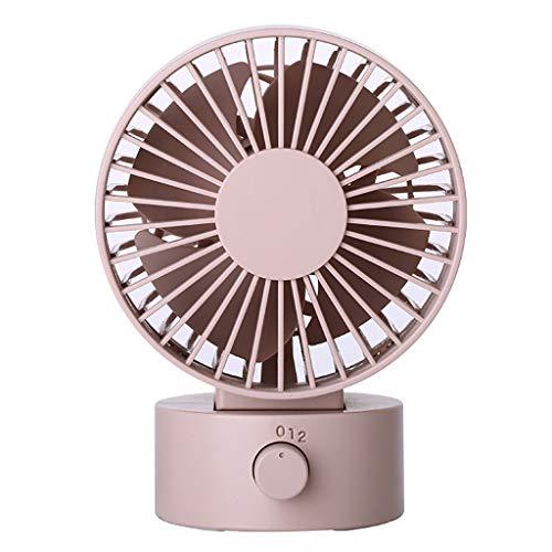 Sunflowers Fan Blades Set - AfazfaDesk Fan Noiseless USB Fan Cooling Fan with Double Fan Blades 2 Speeds Mini Size (B)